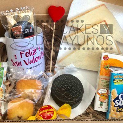 desayuno a domicilio box san valentin